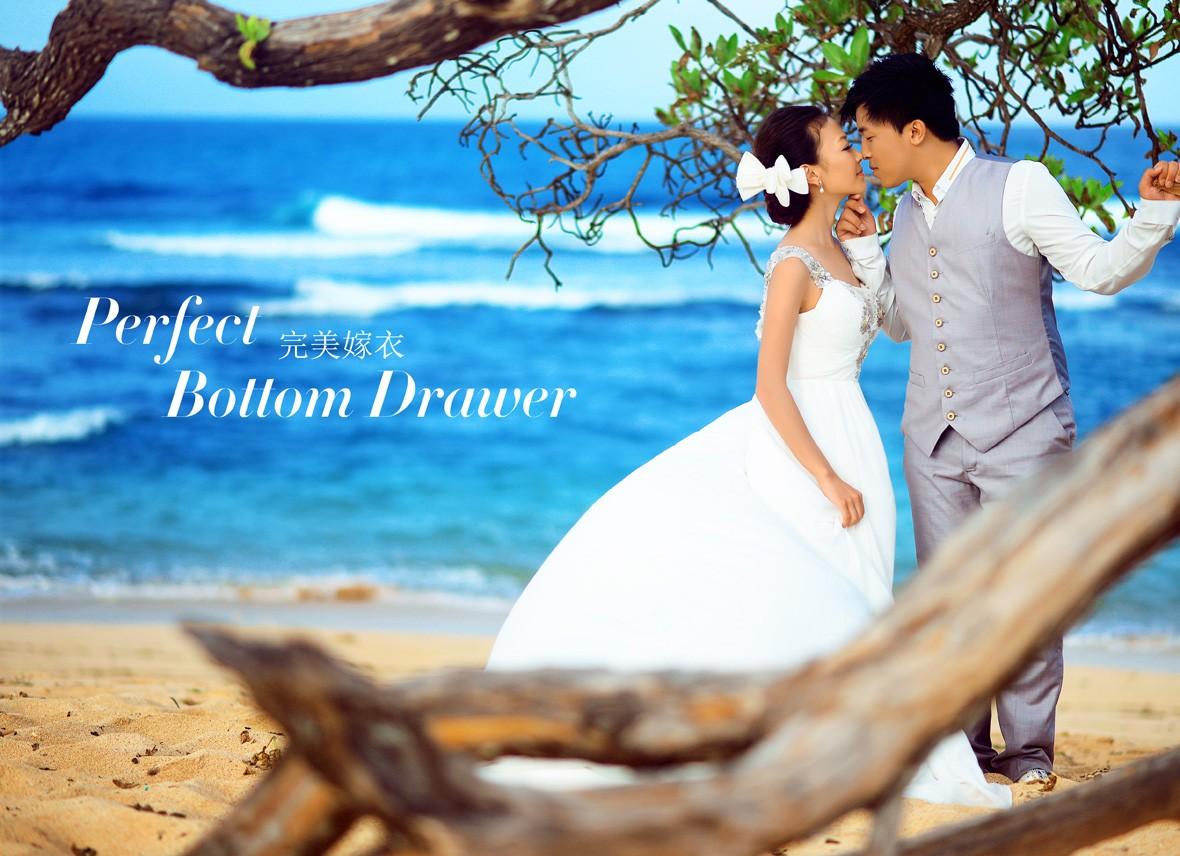巴厘岛旅游婚纱摄影客照:完美嫁衣(1)