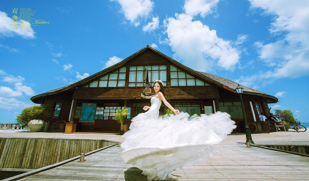 马尔代夫旅游婚纱客照之爱(1)
