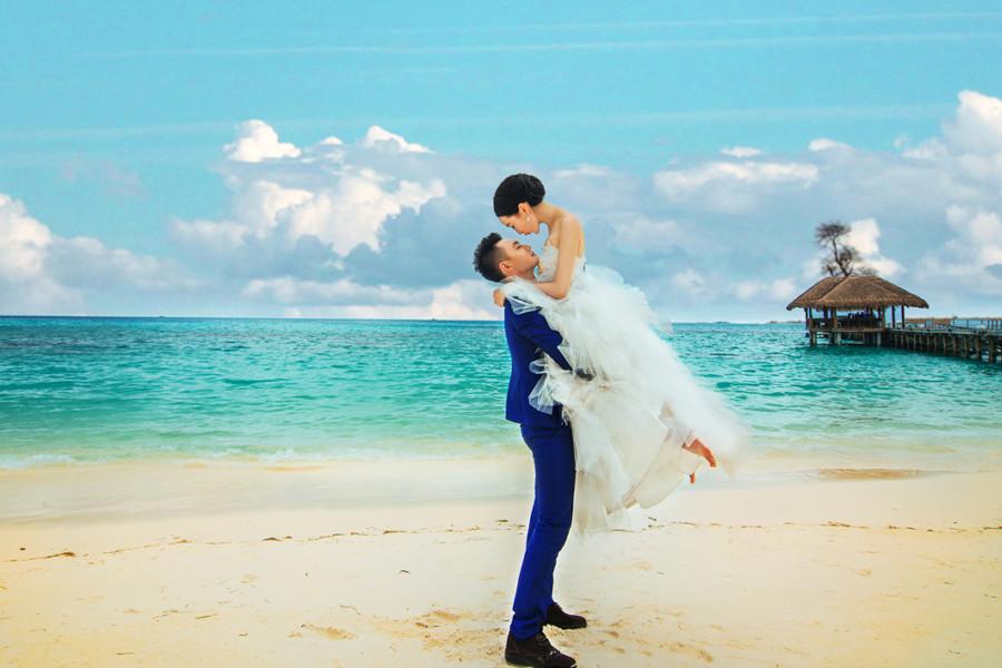 马尔代夫旅游婚纱客照之我们幸福的时光