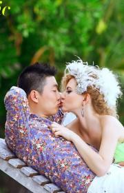 马尔代夫旅游婚纱客照之浪漫爱情