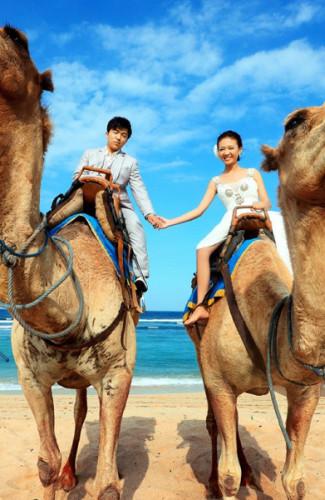 巴厘岛旅游婚纱摄影客照:完美嫁衣