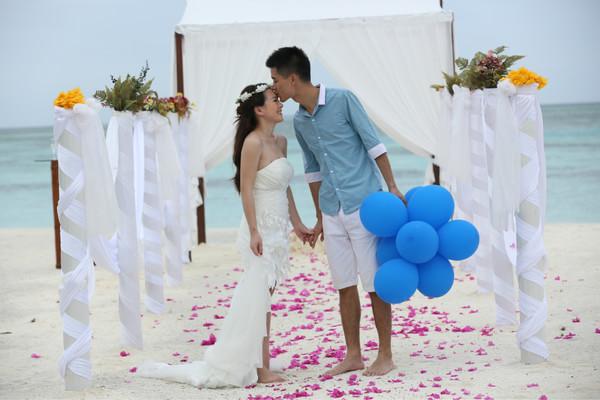 马尔代夫浪漫蜜月游带拍婚纱,一路旅行一路爱情