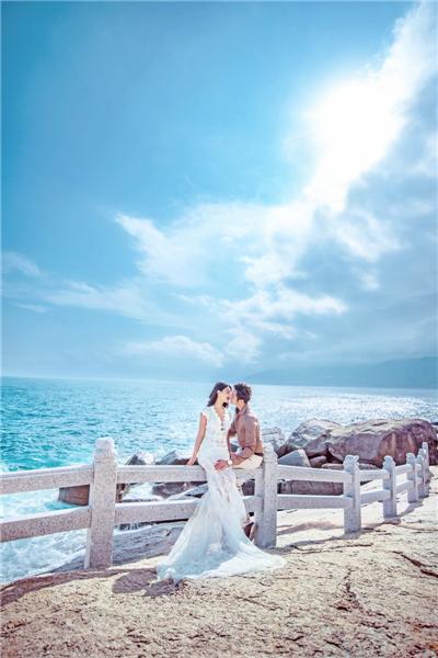 旅行拍婚纱照