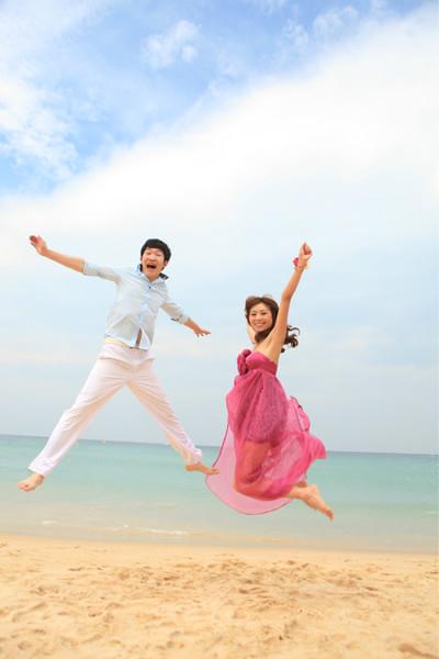 我的浪漫泰国普吉婚纱照蜜月旅行