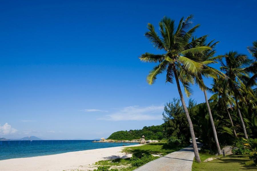 海南旅游拍婚纱照景点推荐——蜈支洲岛