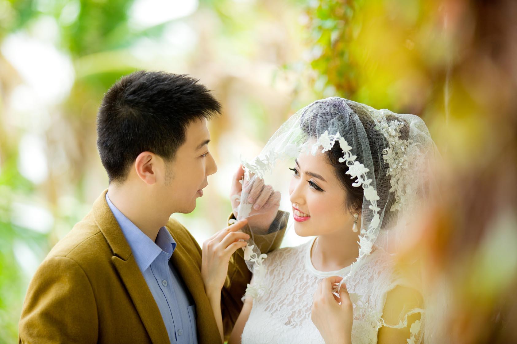 三亚旅游婚纱照,要爱就爱到天涯海角