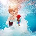 三亚水下婚纱照是怎么样拍的?
