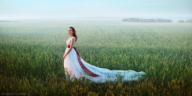 惊呆国外婚纱照,也能如此大气唯美~~美死了