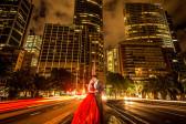 夜景婚纱照拍摄指南 夜景婚纱照片欣赏