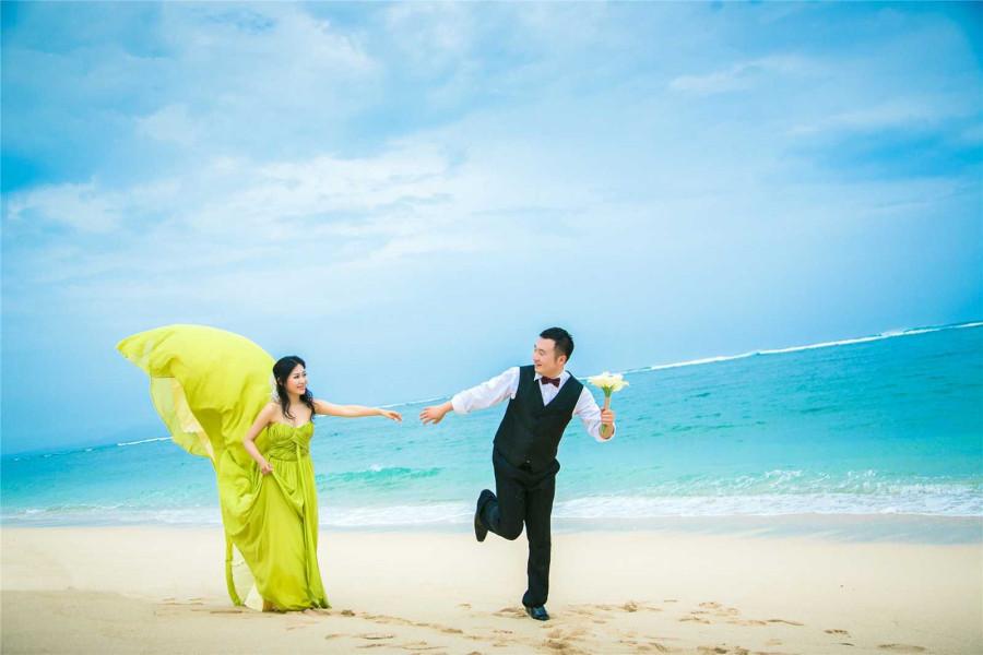 巴厘岛婚纱摄影有哪些经典的风格(01)