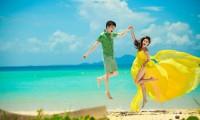 如同梦幻一般的巴厘岛婚纱摄影