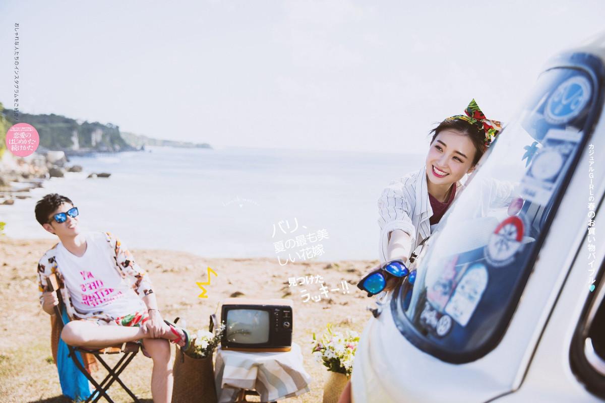 巴厘岛婚纱摄影作品是真的吗?