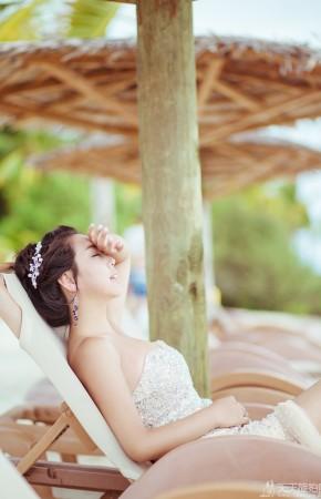 马尔代夫旅拍婚纱照之圣塔拉富士岛II
