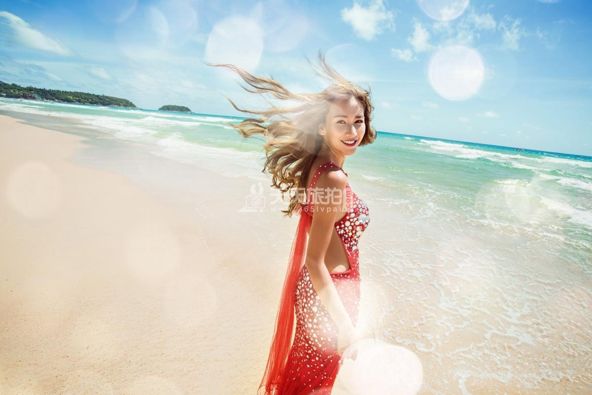 巴厘岛旅拍婚纱照之海景作品I