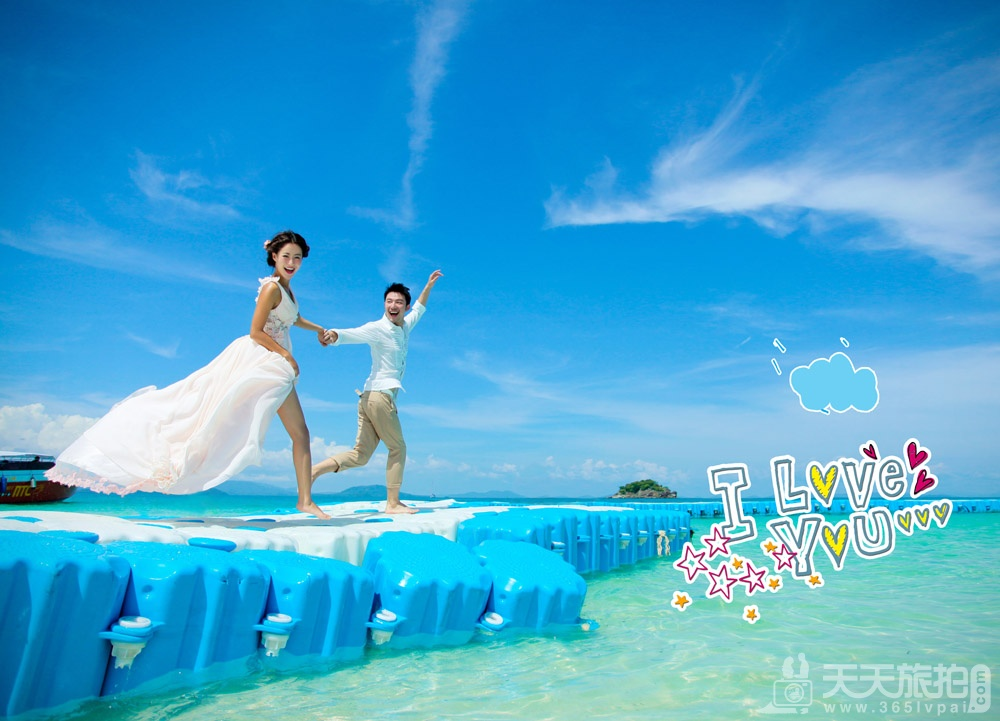 普吉岛旅游婚纱样照之情侣婚纱