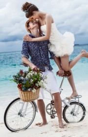 马尔代夫旅拍婚纱照之歪果仁