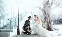 雪景婚纱照注意事项