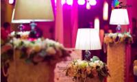 婚礼中的灯光,为您的婚礼增添的不光是色彩