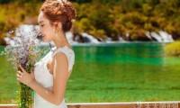 人间仙境的童话世界,九寨沟旅游婚纱摄影