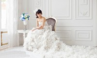 高个子新娘拍摄婚纱照技巧