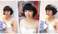短发新娘必看 五大短发造型推荐