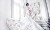 短发新娘也可以拍出最美婚纱照