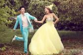 如何拍摄浪漫婚纱照的姿势