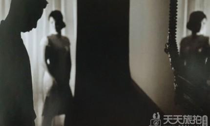 如何拍出对比剪影的婚纱照(1)