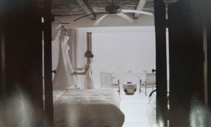 如何在取景框架中展现不一样的婚纱照(2)