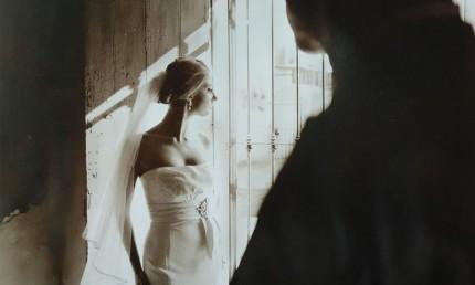 如何拍出对比剪影的婚纱照(2)