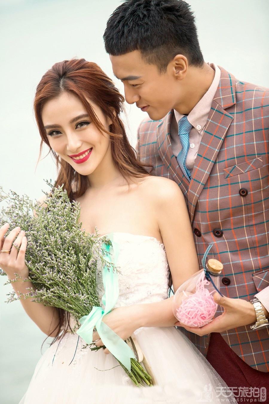 浪漫婚纱照