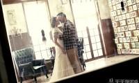 短发新娘如何拍婚纱照更好看