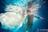 秋冬季节能拍水下婚纱照吗?