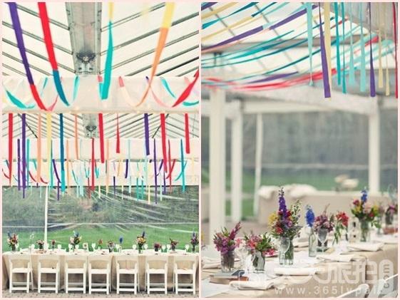 婚礼布置DIY~17种庄园婚礼悬挂设计 - 16