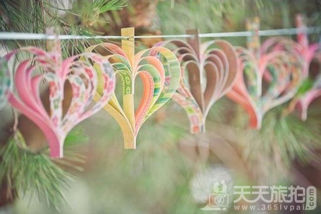 婚礼布置DIY~17种庄园婚礼悬挂设计 - 8