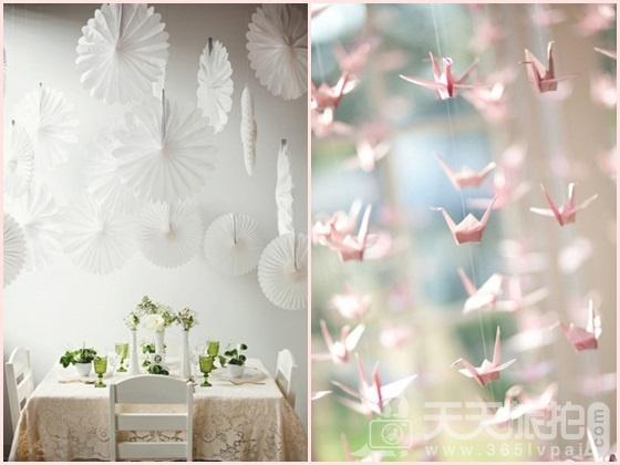 婚礼布置DIY~17种庄园婚礼悬挂设计 - 4