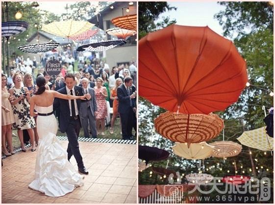 婚礼布置DIY~17种庄园婚礼悬挂设计 - 9