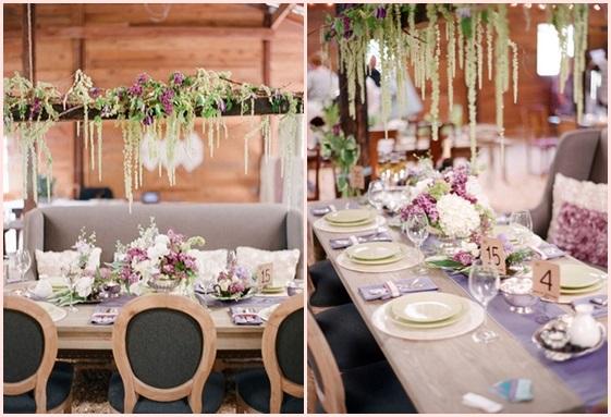 婚礼布置DIY~17种庄园婚礼悬挂设计 - 11