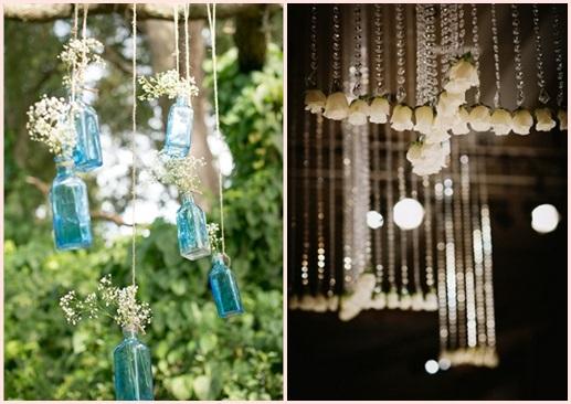 婚礼布置DIY~17种庄园婚礼悬挂设计 - 17