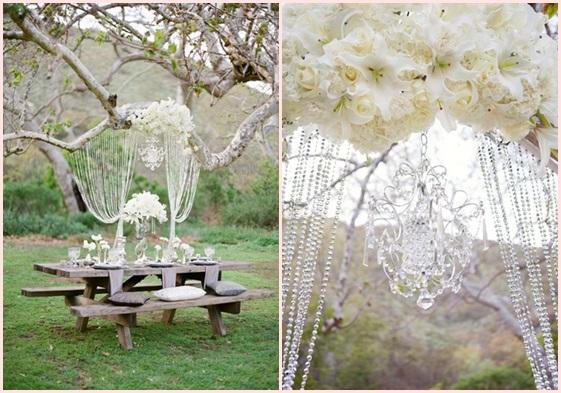 婚礼布置DIY~17种庄园婚礼悬挂设计 - 2