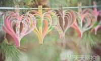 婚礼布置DIY~17种庄园婚礼悬挂设计