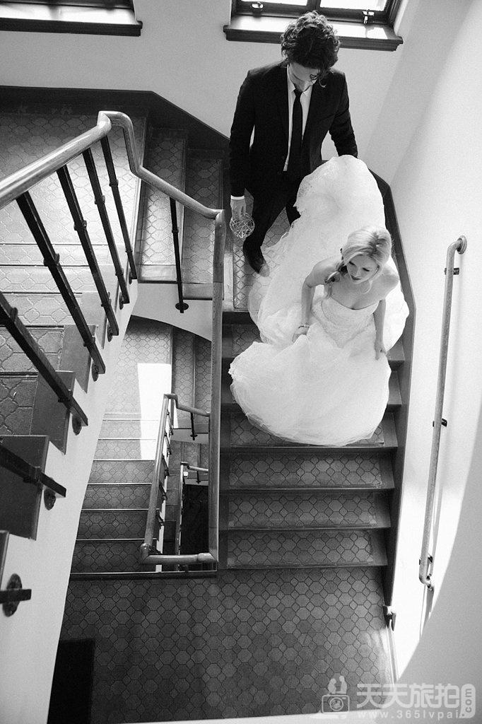 23个婚礼拍摄取景技巧 15-aerial-view