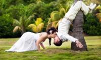 婚纱照就怕没梗,25种激发创意的婚纱照