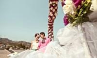 外景婚纱照如何挑选服装