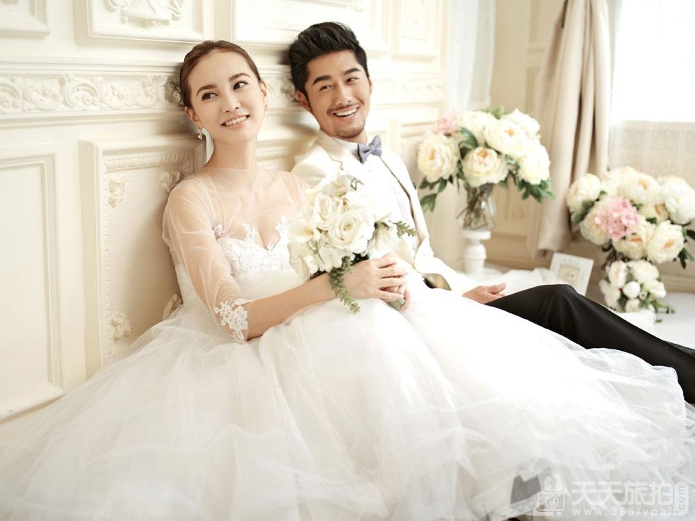 女生经期可以拍婚纱照吗?