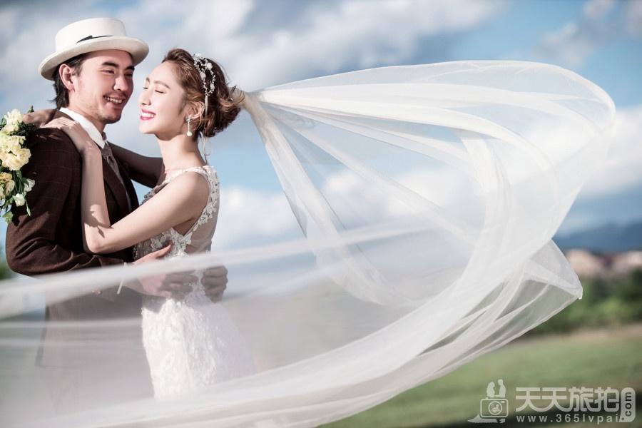 短发女生适合什么样的婚纱摄影风格