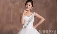 宽肩膀的新娘拍婚纱要注意什么