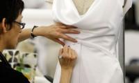 手工婚纱订制 – 身型测量