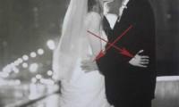 亲吻镜头的婚纱摄影技巧