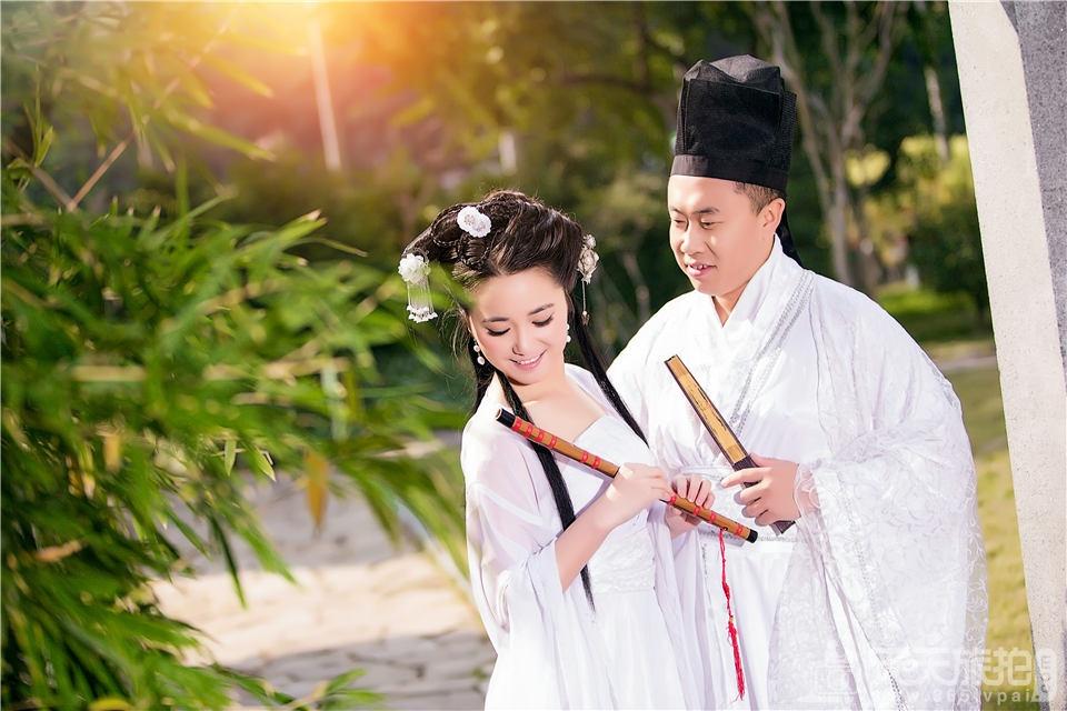 中国古装婚纱